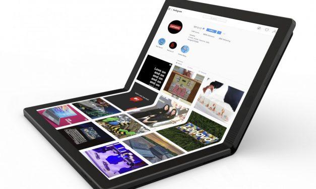 Lenovo anuncia su nuevo portátil plegable para 2020