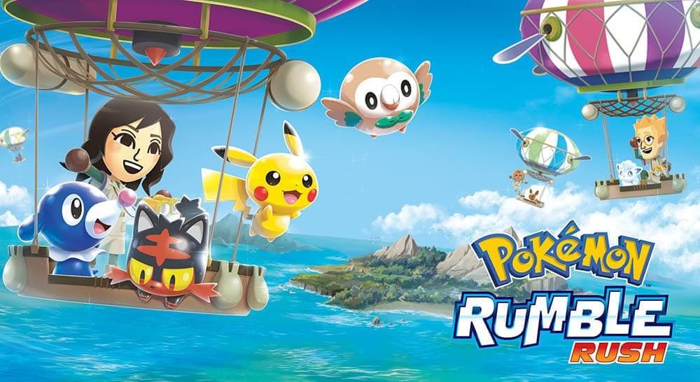 NP: Pokémon Rumble Rush anunciado para dispositivos móviles