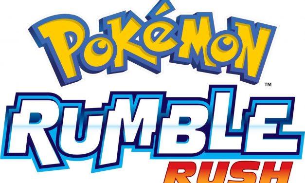 NP: Pokémon Rumble Rush anunciado para dispositivos móviles