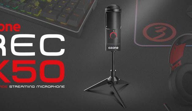 NP: REC X50 llega a Ozone para convertir tu habitación en un estudio de grabación profesional
