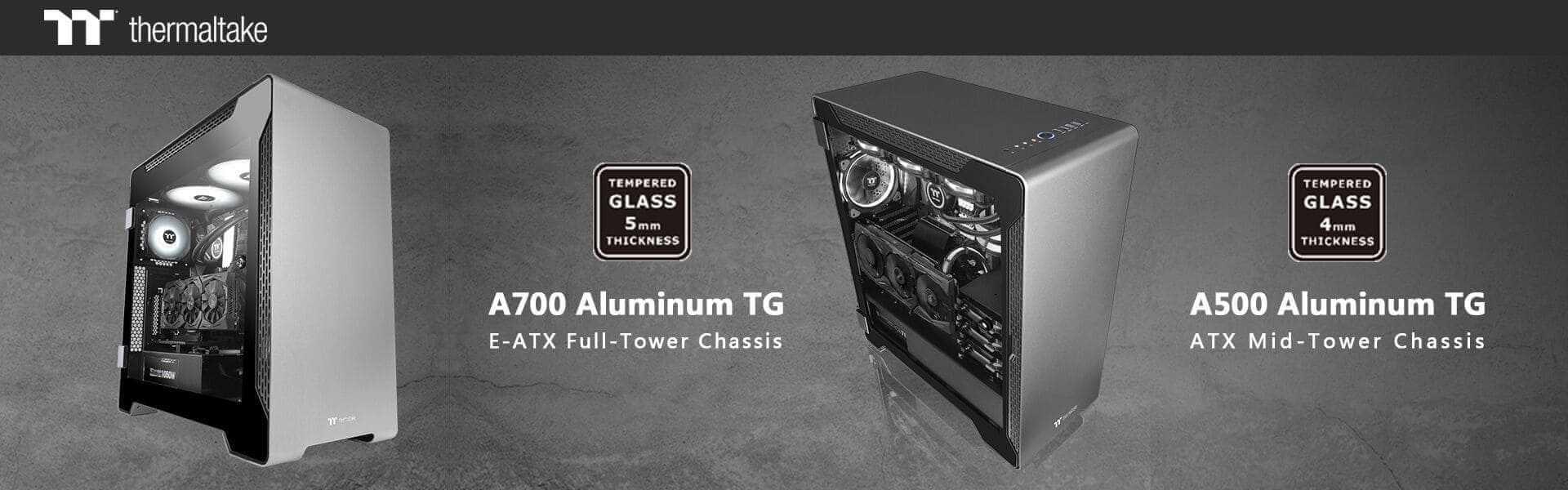 NP: Thermaltake A700 Aluminum Tempered Glass Edition Full Tower se une a la familia de chasis de la serie A