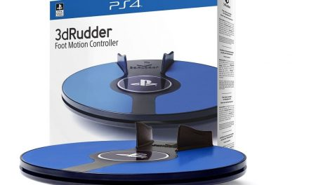 NP: Ya está disponible 3DRudder para PlayStation VR
