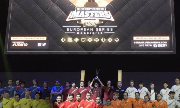 NP: El equipo de la Universidad de Oporto, ganador de la final University Esports Masters, representará a Europa en el campeonato mundial de China