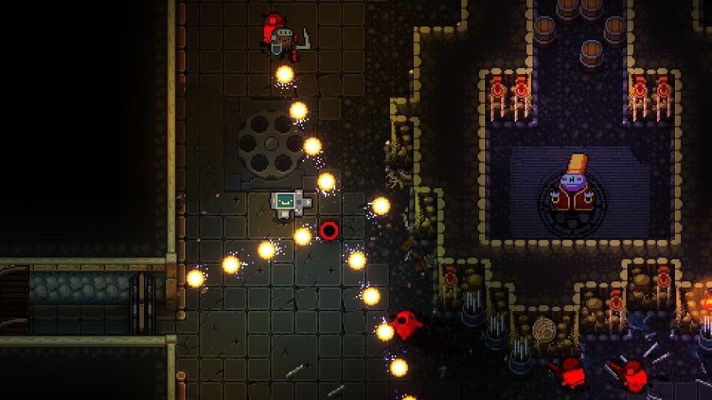Enter the Gungeon disponible de forma gratuita en Epic Games Store