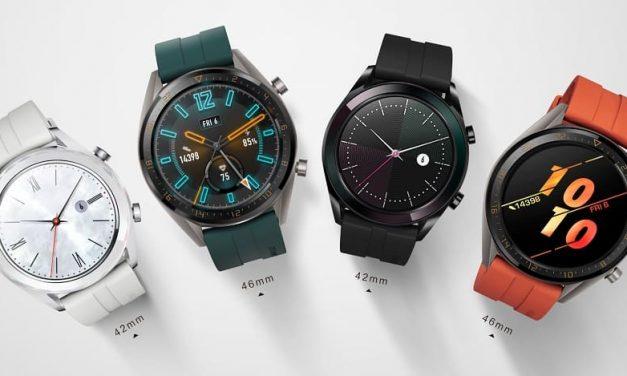 NP: HUAWEI WATCH GT vende más de dos millones de unidades que contribuyen a un crecimiento de un 282,2% en su línea de wearables
