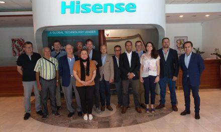 NP: Hisense abre a Milar-Comelsa su innovador centro de producción en Eslovenia