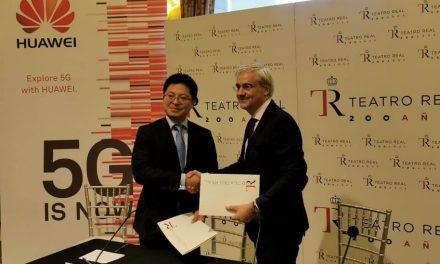 NP: Huawei firma un acuerdo de colaboración con el Teatro Real y reafirma su compromiso con el desarrollo de la cultura española