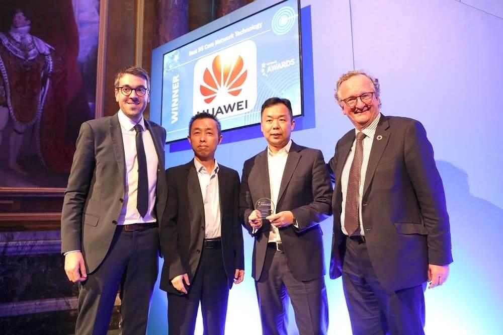 """NP: Huawei galardonada con el premio """"Mejor tecnología de núcleo de red 5G"""""""
