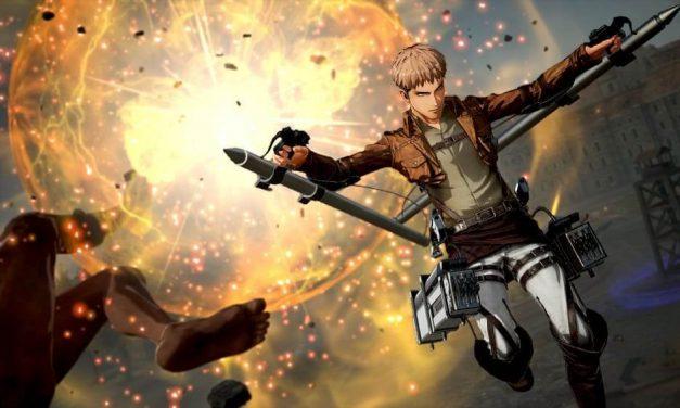 NP: El poder del nuevo armamento de A.O.T. 2: Final Battle