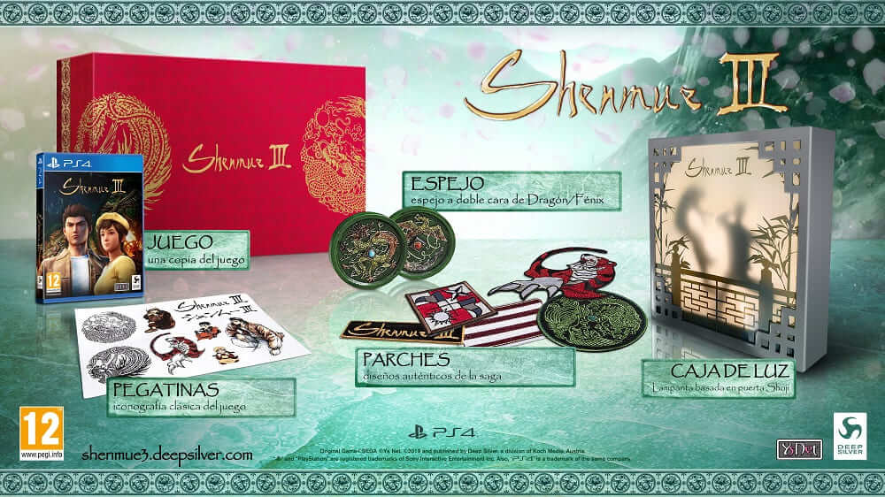 NP: Shenmue III - reserva, edición coleccionista y trailer E3