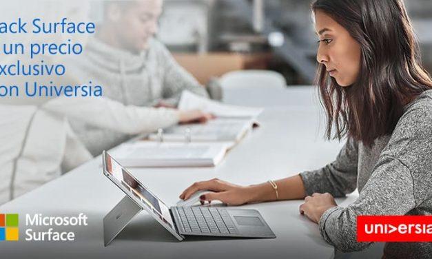 NP: Microsoft y Universia facilitan a los universitarios el acceso a Surface Pro y formación certificada
