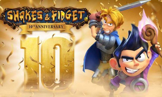 NP: Shakes & Fidget celebra su 10º aniversario con un nuevo aspecto gráfico y nueva interfaz