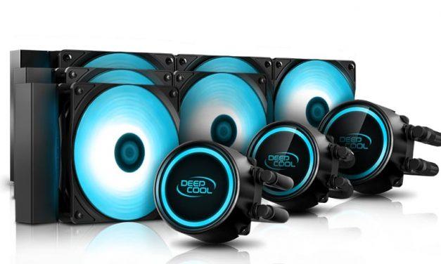 NP: Deepcool lanza nueva línea de refrigeración líquida Gammaxx V2 Series