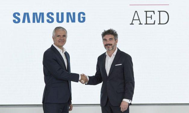 NP: Samsung y la AED firman un acuerdo de colaboración