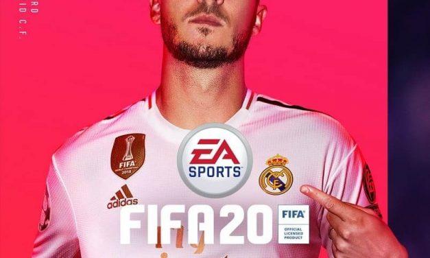 NP: Hazard, el gran fichaje del Real Madrid, portada de FIFA 20