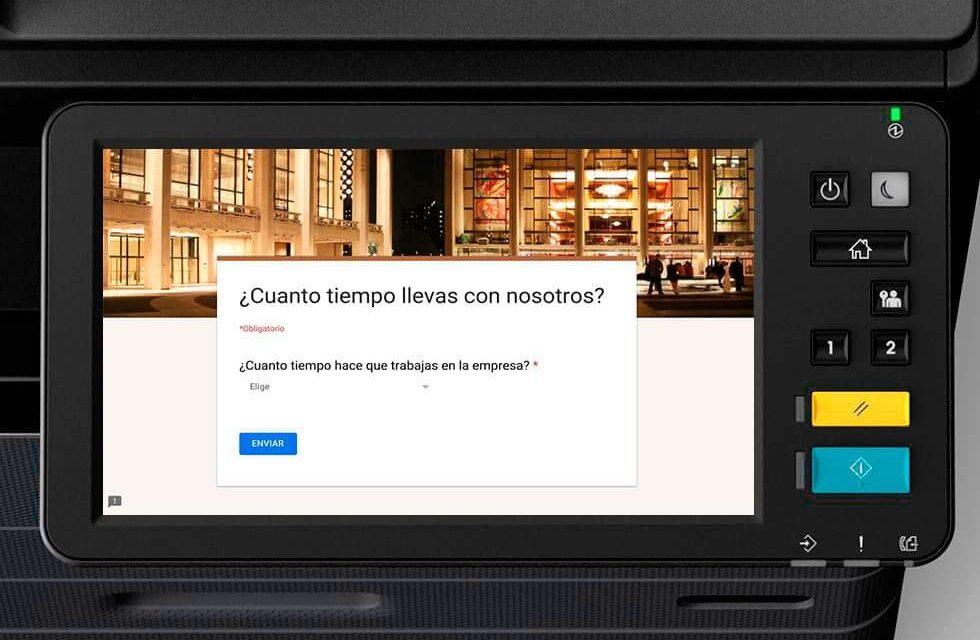 NP: El 59% de las empresas quiere convertir las pantallas de sus equipos multifunción en tablones de anuncios digitales