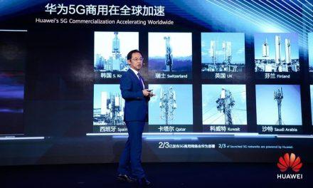 NP: Huawei alcanza los 50 contratos comerciales de 5G y despliega más de 150.000 estaciones base