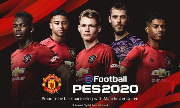 NP: Konami y Manchester United anuncian su asociación a largo plazo