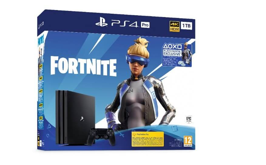 NP: Diferentes packs de Fortnite Neo Versa llegan hoy a PlayStation 4