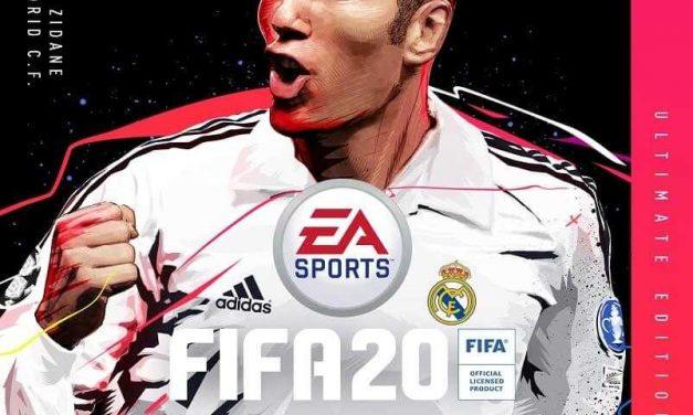 NP: Zidane protagoniza la portada de la edición Ultimate de FIFA 20