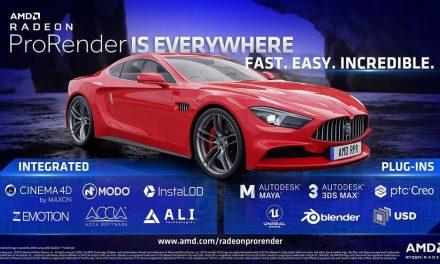 NP: AMD amplía las capacidades de las cargas de trabajo creativas con nuevas integraciones y actualizaciones de Radeon ProRender
