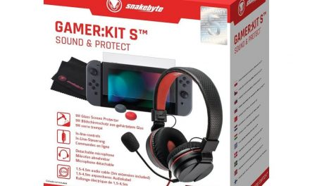 NP: Snakebyte lanza GAMER: KIT S SOUND & PROTECT para Nintendo Switch, el pack perfecto para gaming sobre la marcha