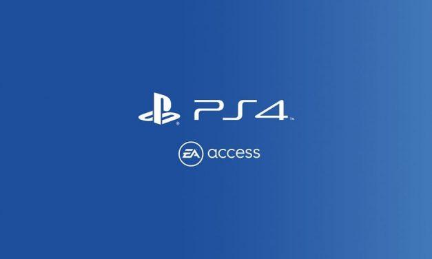 NP: EA Access ya está disponible en PlayStation 4