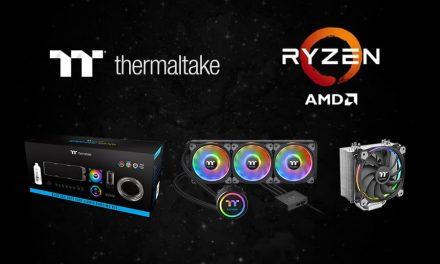 NP: Las soluciones de refrigeración Thermaltake respaldan los últimos procesadores potentes