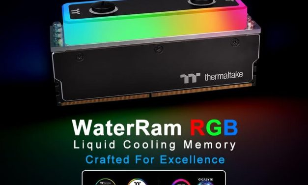 NP: Thermaltake lanza WaterRam RGB Liquid Cooling DDR4 Memory 3600MHz 32GB