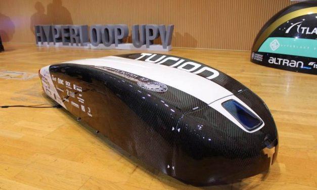 NP: RS Components, con el equipo Hyperloop UPV