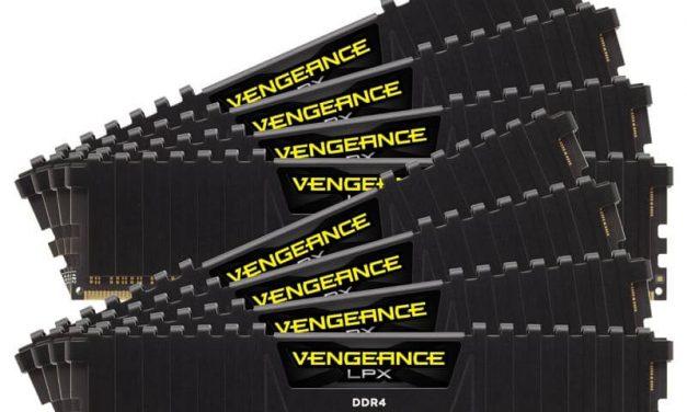 NP: CORSAIR lanza nuevos módulos de 32 GB de memoria de alto rendimiento VENGEANCE LPX DDR4