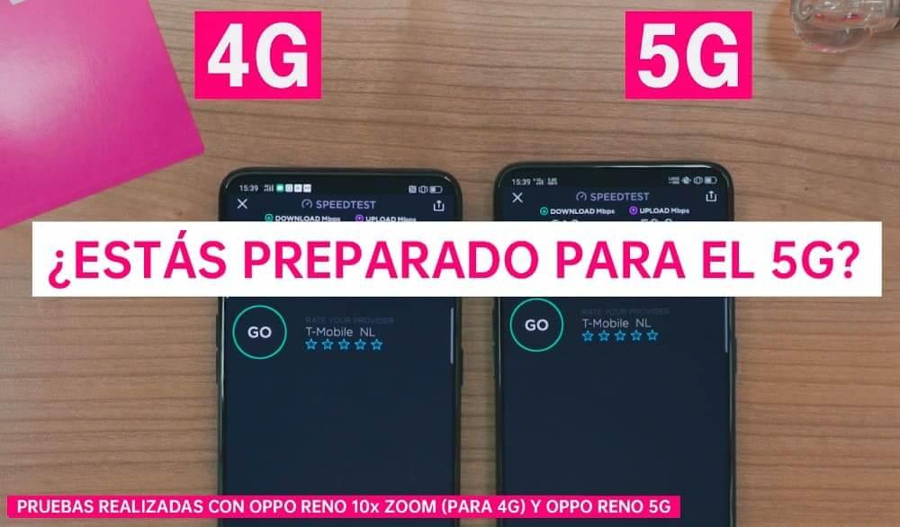 NP: OPPO Reno 5G alcanza velocidades de descarga de hasta 850 Mbps en las pruebas de T-Mobile en Holanda