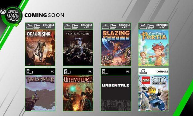 NP: Dead Rising 4, La Tierra Media: Sombras de Guerra, Undertale y más, rumbo a Xbox Game Pass