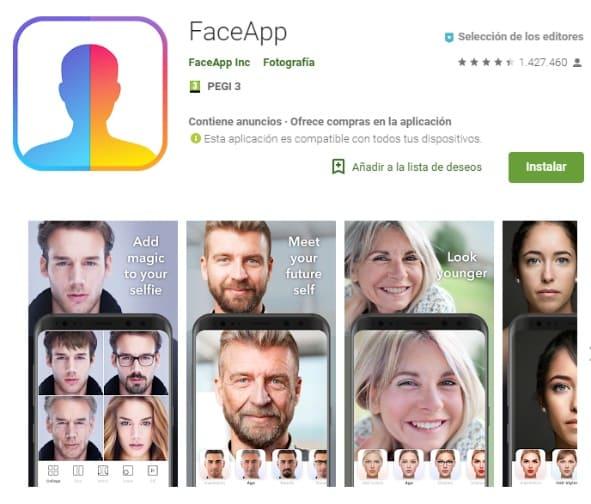 NP: #FaceApp. Un nuevo ejemplo de que seguimos siendo demasiado confiados