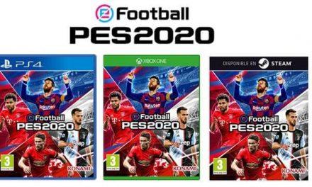 NP: eFootball PES 2020 desvela su portada global y anuncia el lanzamiento de su demo, disponible desde hoy