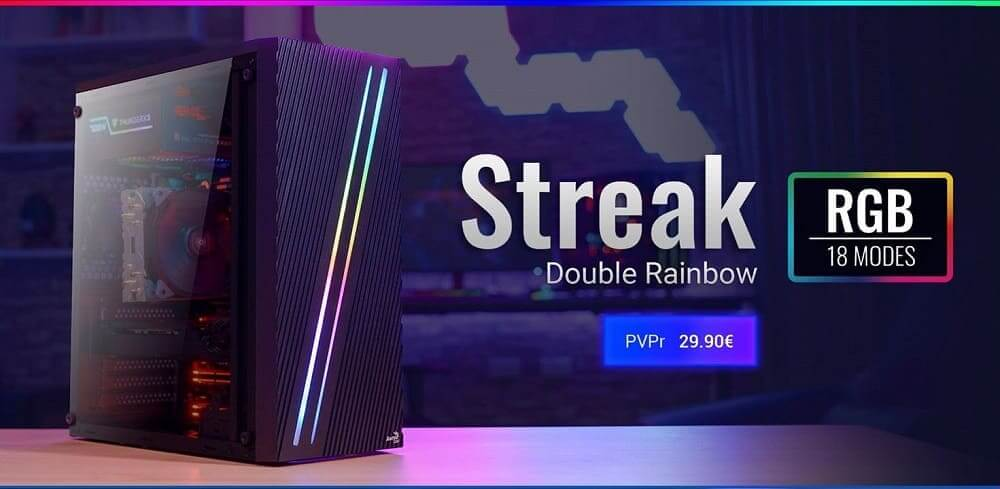 NP: Nueva caja STREAK – Doble franja RGB