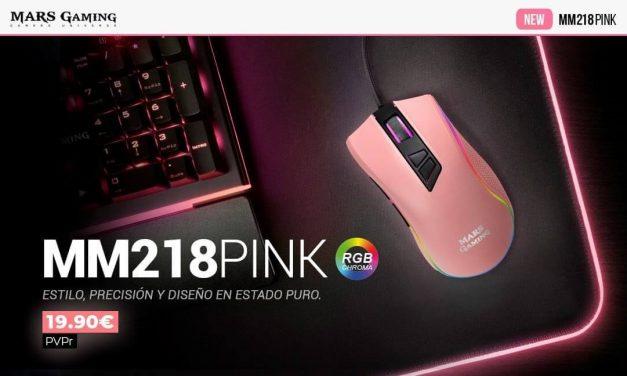 NP: Nuevo MM218PINK – Olvídate de productos gaming rosas a precios desorbitados ¡Llega la #PINKRevolution de Mars Gaming!