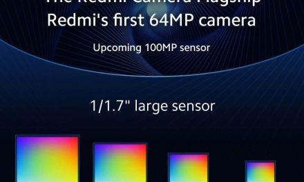 NP: Xiaomi y Samsung anuncian el lanzamiento de una cámara de 64MP y un sensor de 100MP