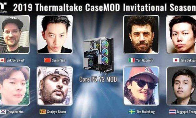 NP: 2019 Thermaltake CaseMOD Invitational Season 2 reúne a doce de los mejores modders del mundo para la nueva creación del chasis Core P5 V2