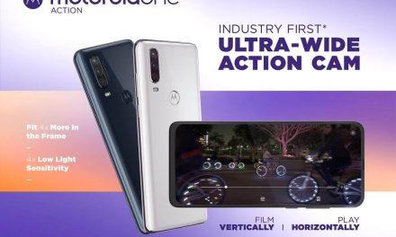 NP: Motorola One Action: primera cámara de acción ultra gran angular