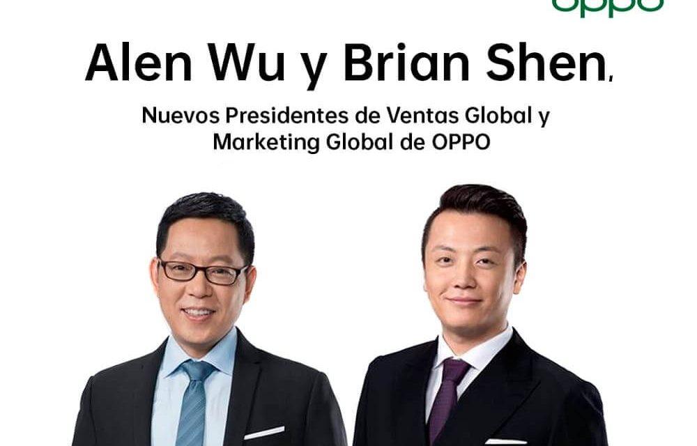 NP: OPPO nombra nuevos Presidentes de Ventas Globales y Marketing Global para impulsar la integración de la compañía en todo
