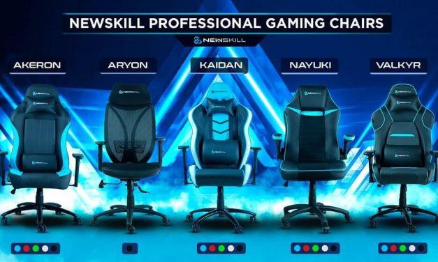 NP: Newskill pone el broche de oro al verano presentando su nueva gama de sillas Gaming