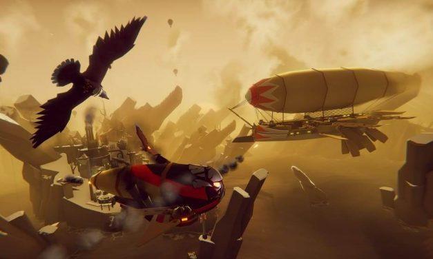 NP: Vuela con The Falconeer, llegará a PC en 2020