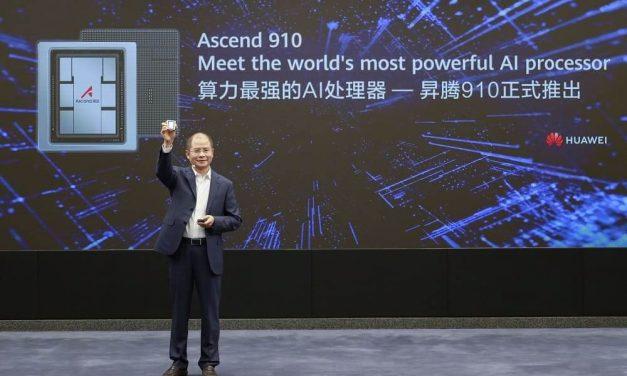 NP: Huawei lanza Ascend 910 y MindSpore, el procesador de IA más potente del mundo y la plataforma de computación de IA para todos los escenarios