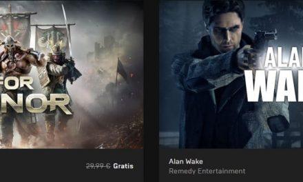 For Honor y Alan Wake de forma totalmente gratuita en Epic Games Store