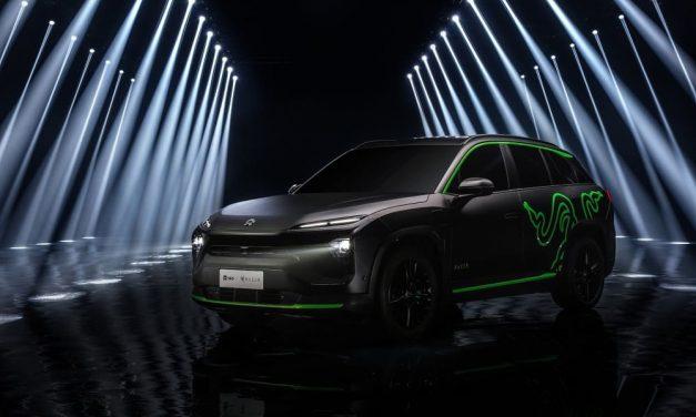 NP: Razer y NIO allanan el camino con tecnología Chroma RGB para coches eléctricos