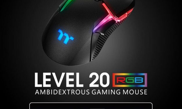 NP: Thermaltake lanza su primer Level 20 Gaming Mouse