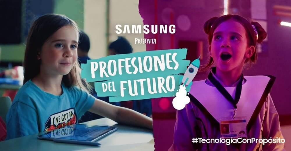 """NP: Samsung lanza la campaña """"Profesiones del futuro"""""""