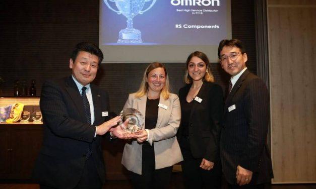 NP: RS Components gana el premio de Omron al mejor distribuidor