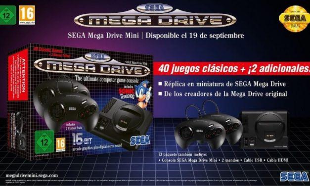 NP: Ya a la venta la SEGA Mega Drive Mini – Tráiler de lanzamiento